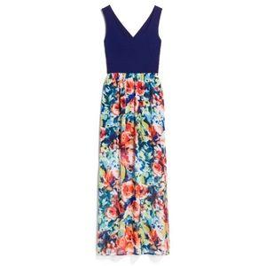 Stitch Fix Le Lis Juri 2fer Cross Back Maxi Dress